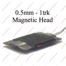 0.5mm 1track magnetic head